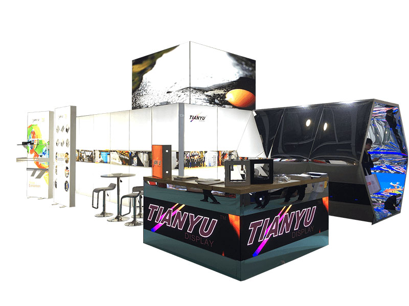Wholesale TIANYU M Series System Used Trade Show Booth Backdrop Stand For Sale