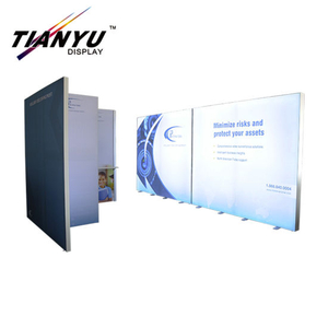 Portable Metal Frame Tension Fabric Trade Show Display Backdrop
