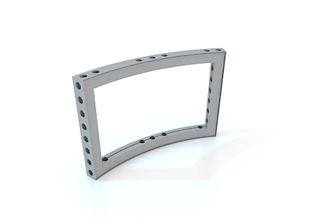 M-series Anodized Aluminum Curved Frame