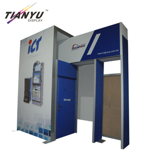 Factory Price Trade Show Booth, Display Standee Aluminum
