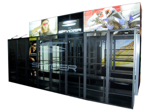 30x20ft Modern Standard Trade Show Exhibition Booth for Expo
